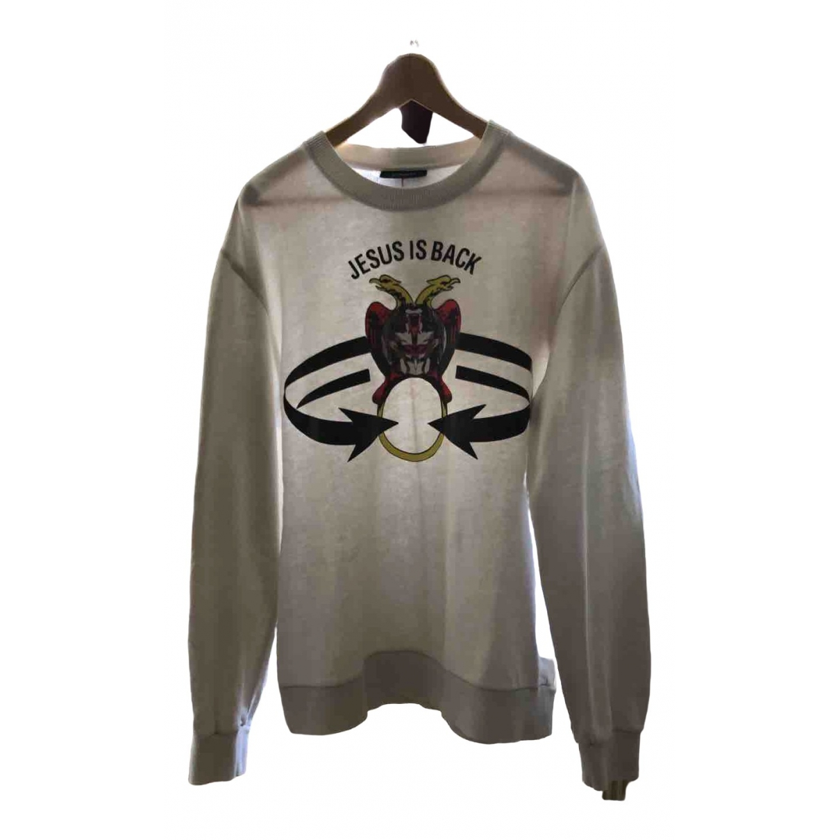 Givenchy \N White Cotton Knitwear & Sweatshirts for Men L International