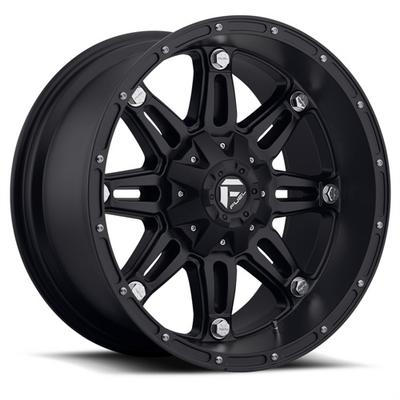 MHT Fuel Offroad Wheels Hostage D531, 17x8.5 Wheel with 5 on 5 Bolt Pattern - Matte Black - D53117855162