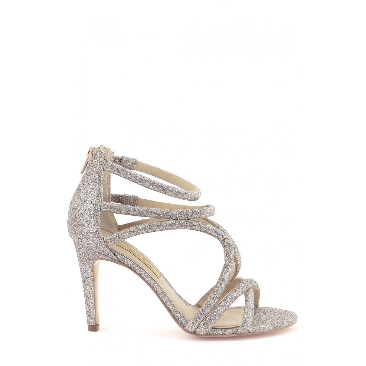 Autre Marque \N Gold Leather Sandals for Women 36 EU