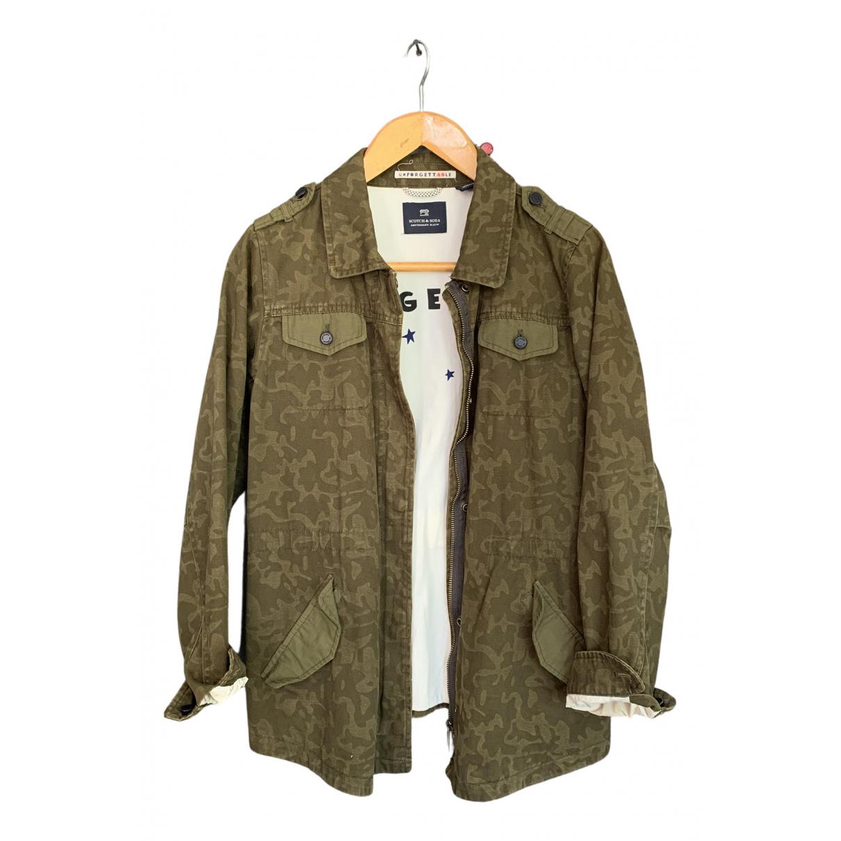 Scotch & Soda \N Khaki Cotton jacket & coat for Kids 14 years - S FR
