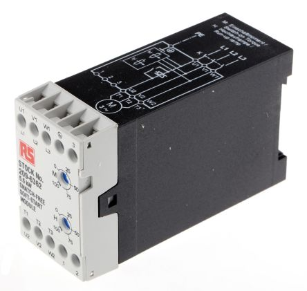 RS PRO 3 Phase Soft Starter - 12 A Current Rating, 5.5 kW Power Rating, 380 → 460 V ac Supply Voltage
