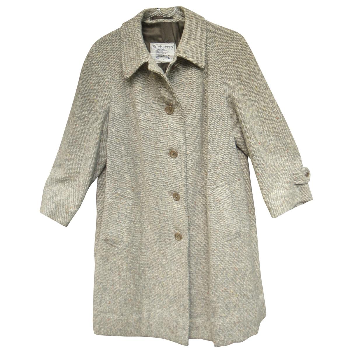 Abrigo Tweed Burberry