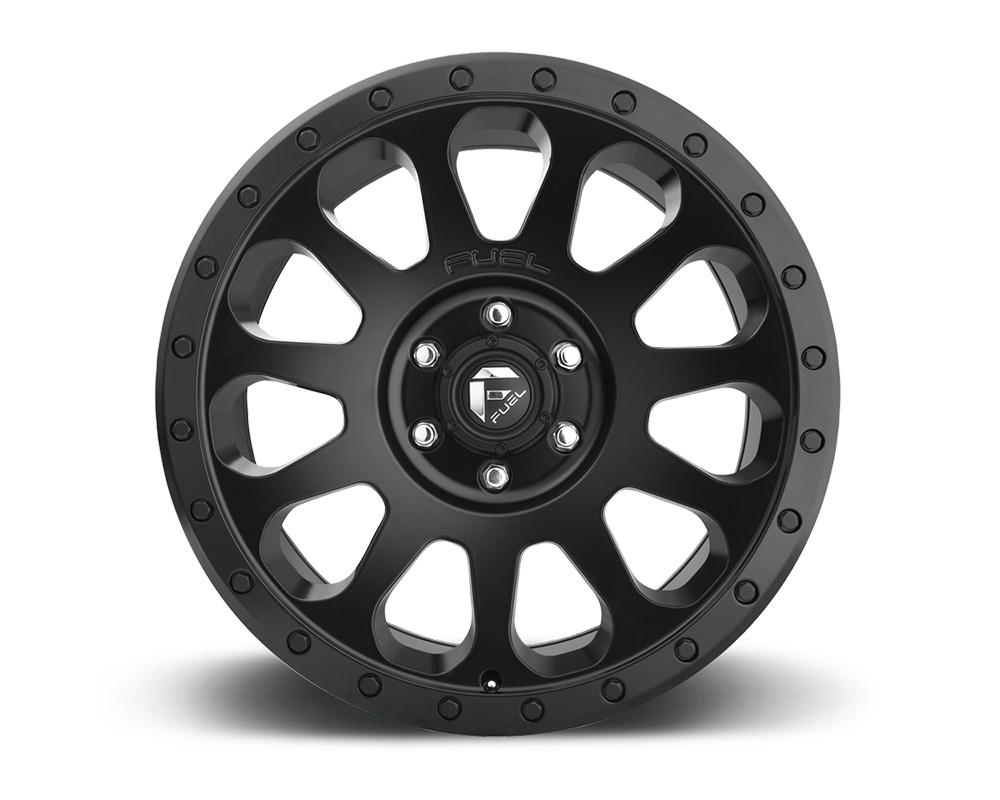 Fuel D579 Vector Matte Black 1-Piece Cast Wheel 18x9 6x120 06mm