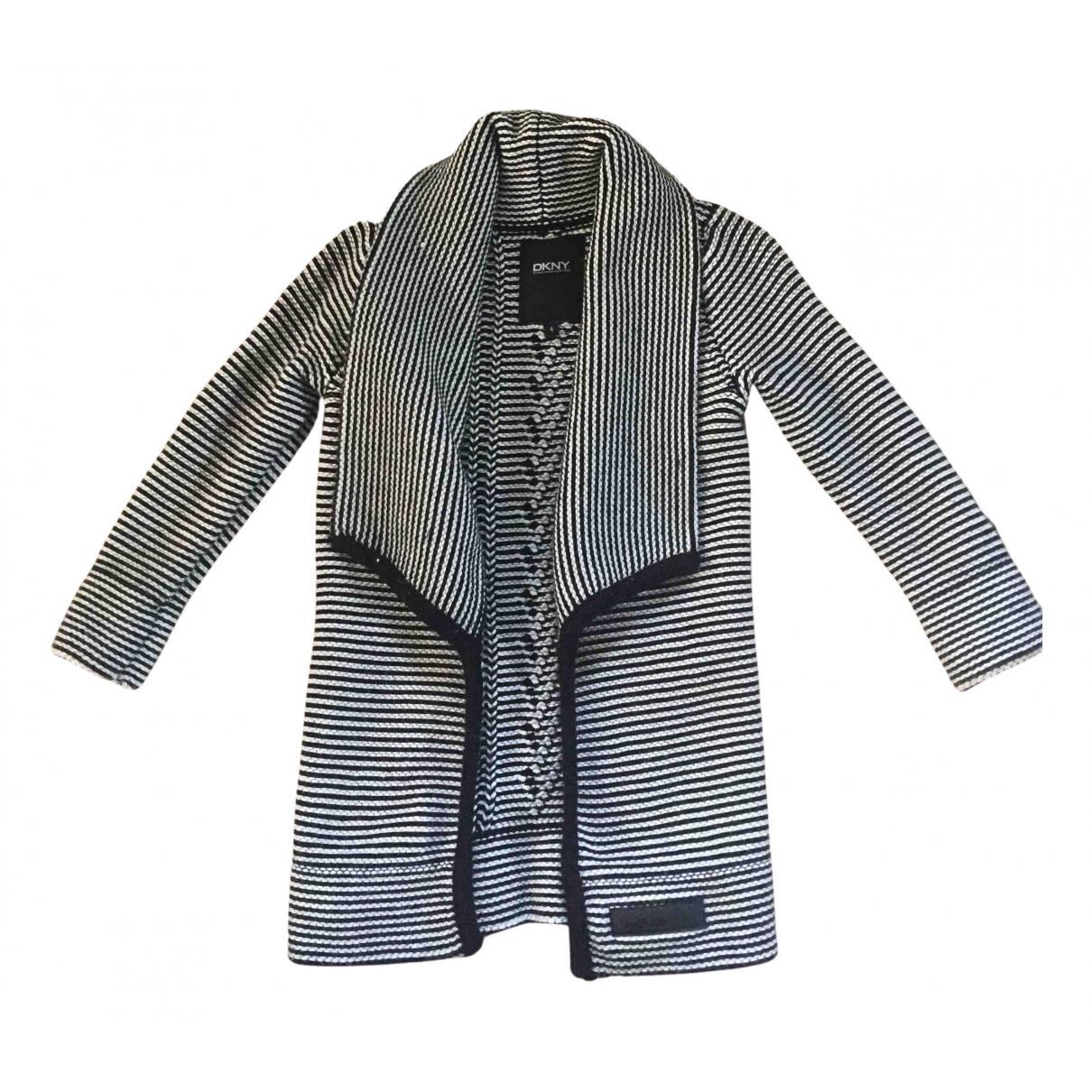 Dkny - Pull   pour enfant en coton - noir