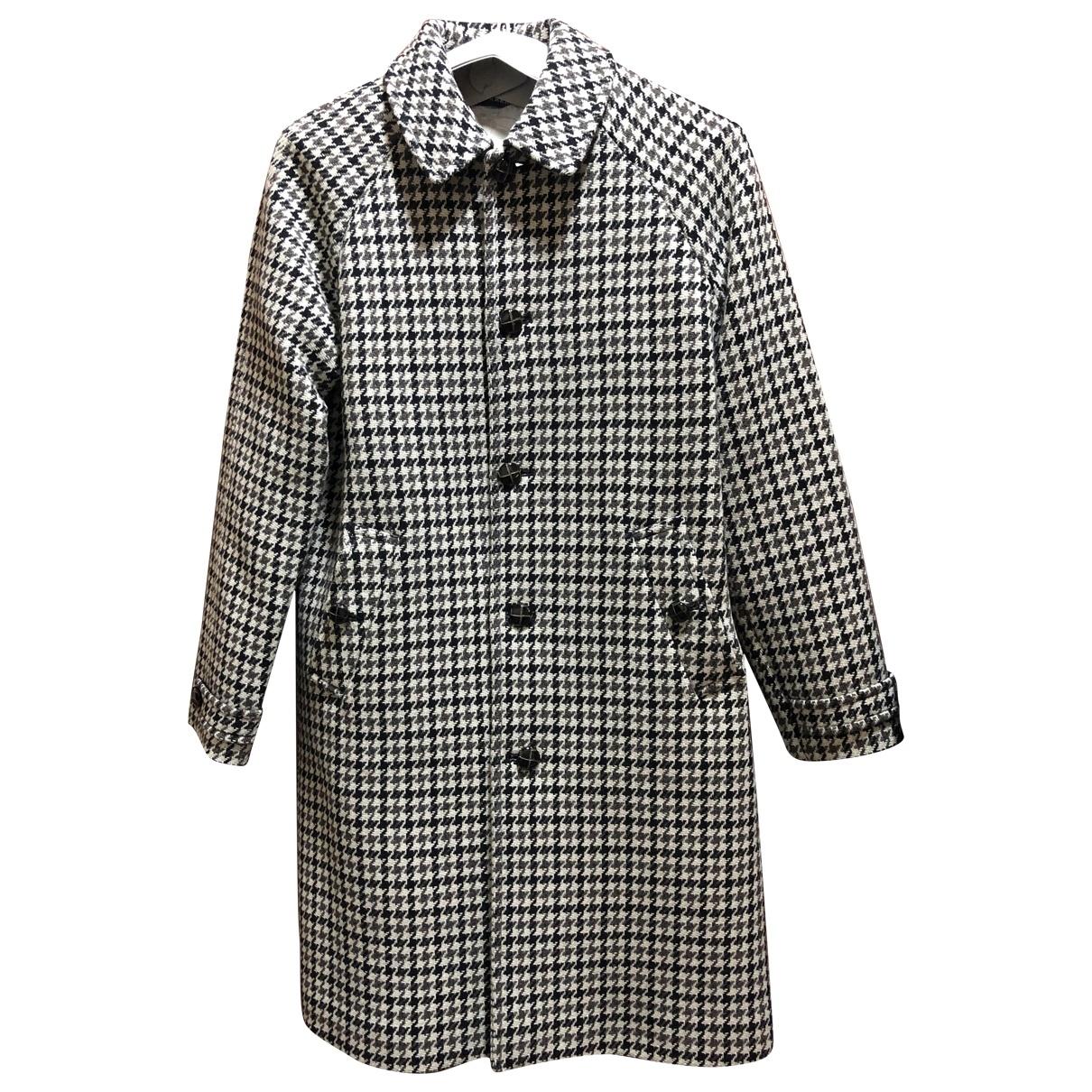 Burberry - Blousons.Manteaux   pour enfant en laine