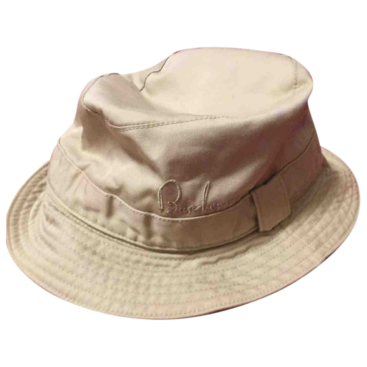 Burberry \N Beige Cotton hat for Women M International