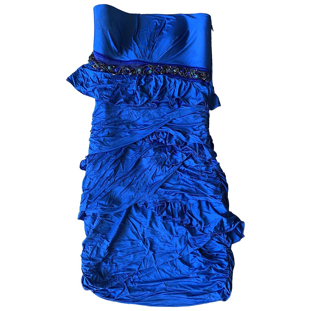 Pinko \N Kleid in  Blau Viskose