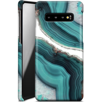 Samsung Galaxy S10 Plus Smartphone Huelle - Sea Agate von Emanuela Carratoni