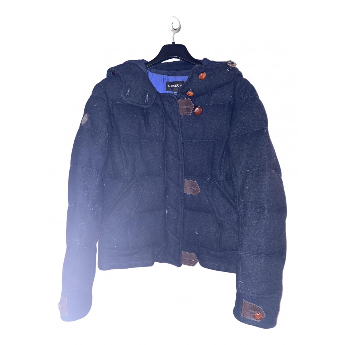 Museum \N Blue Wool jacket for Women 40 IT