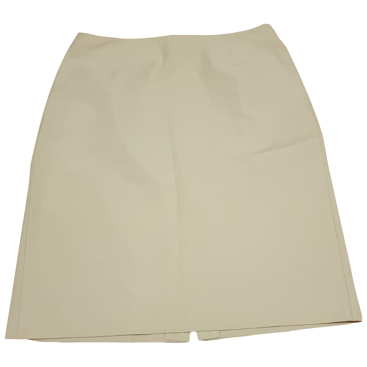 Prada \N Beige skirt for Women 44 IT