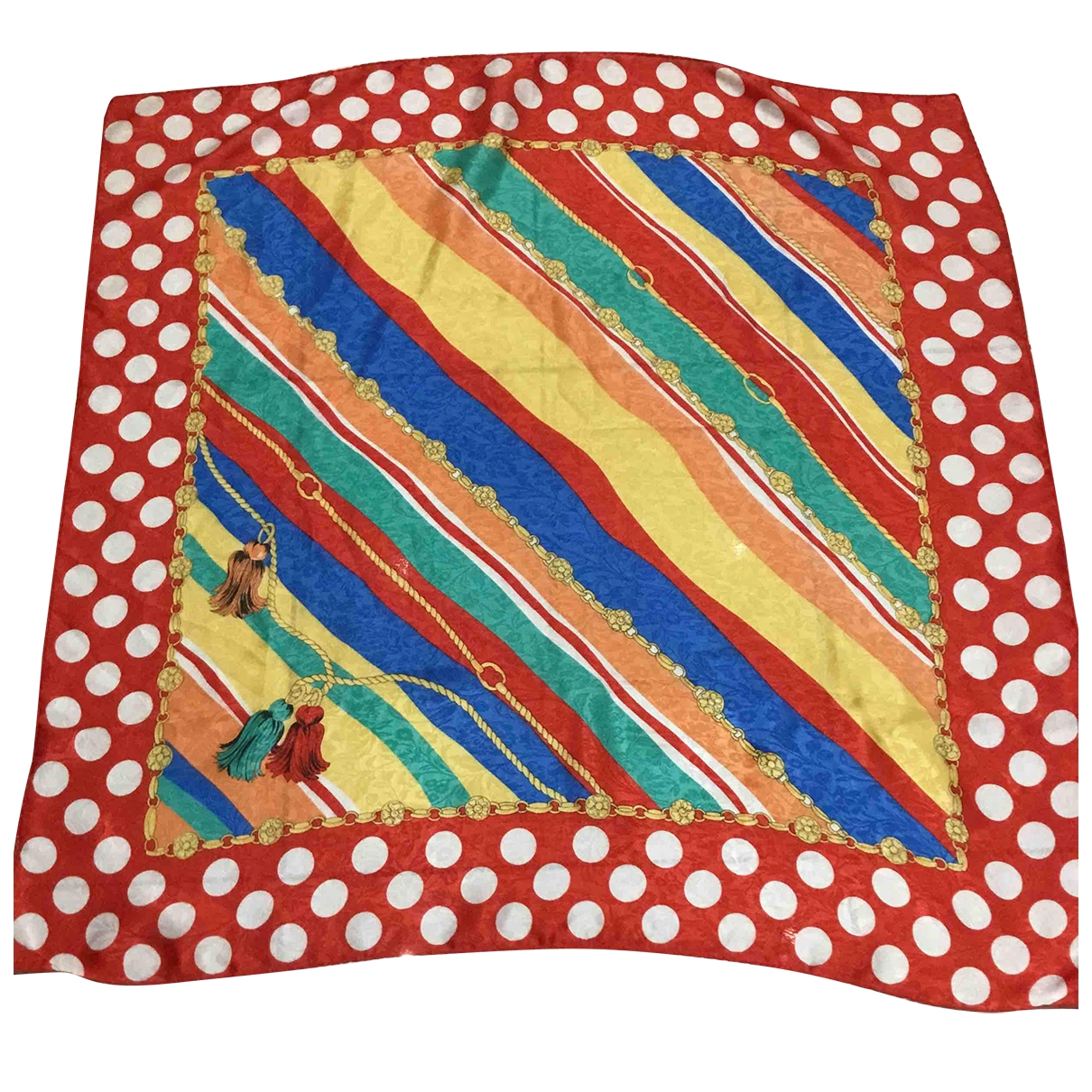 Non Signé / Unsigned \N Multicolour Silk Silk handkerchief for Women \N