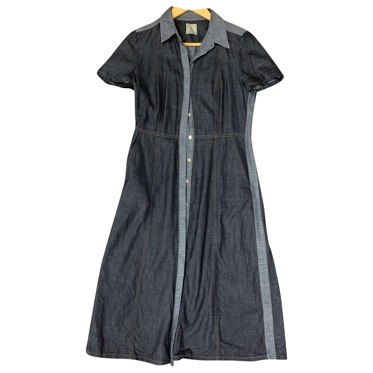 Jigsaw - Robe   pour femme en denim - bleu