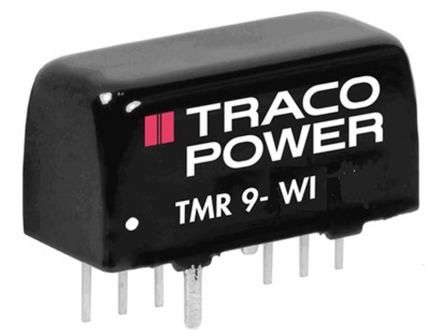 TRACOPOWER TMR 9 WI 9W Isolated DC-DC Converter Through Hole, Voltage in 9 → 36 V dc, Voltage out 5V dc