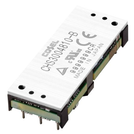 Cosel CHS 200.4W Isolated DC-DC Converter PCB Mount, Voltage in 18 → 36 V dc, Voltage out 12V dc