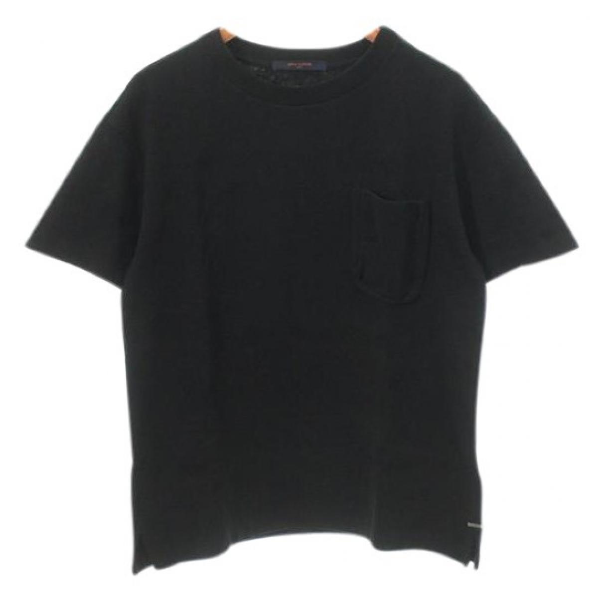 Louis Vuitton \N Black Cotton T-shirts for Men XS International
