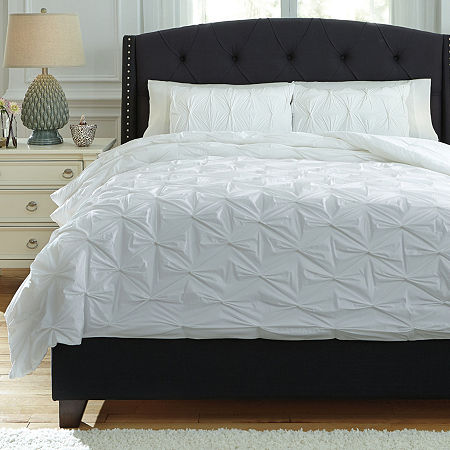 Signature Design by Ashley Midweight Comforter, One Size , White
