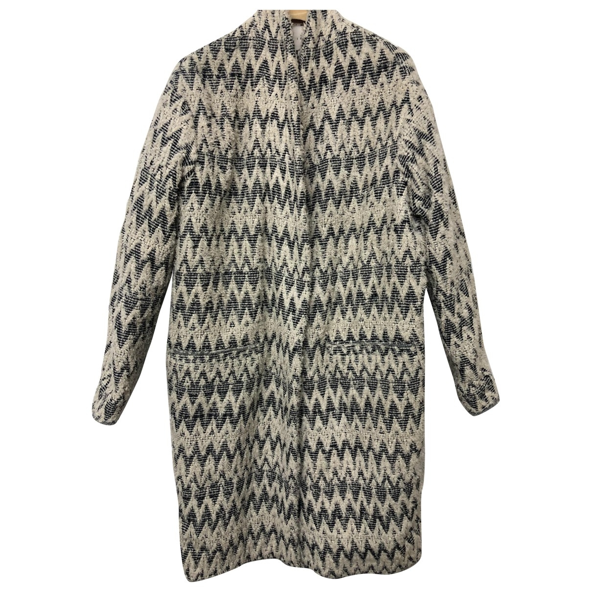 Iro \N Grey Wool coat for Women 38 FR