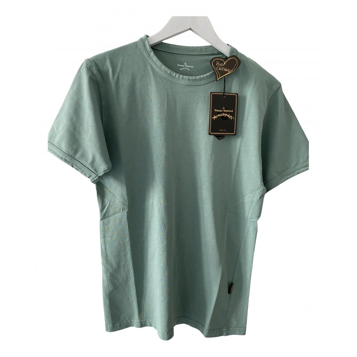 Vivienne Westwood Anglomania - Tee shirts   pour homme en coton - vert