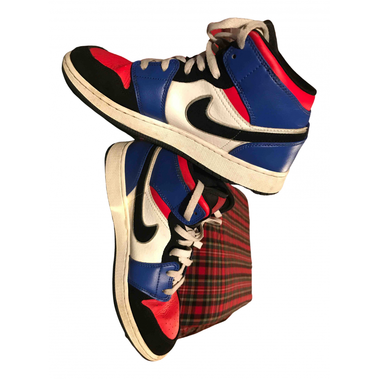 Jordan - Baskets Air Jordan 1  pour homme en cuir - multicolore