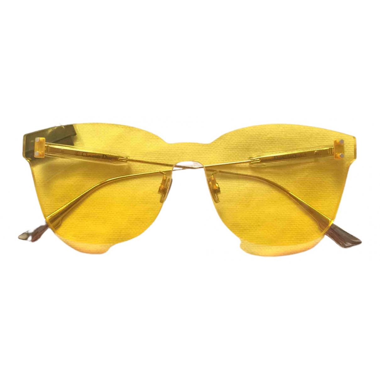 Dior - Lunettes Color Quake 2 pour femme - jaune
