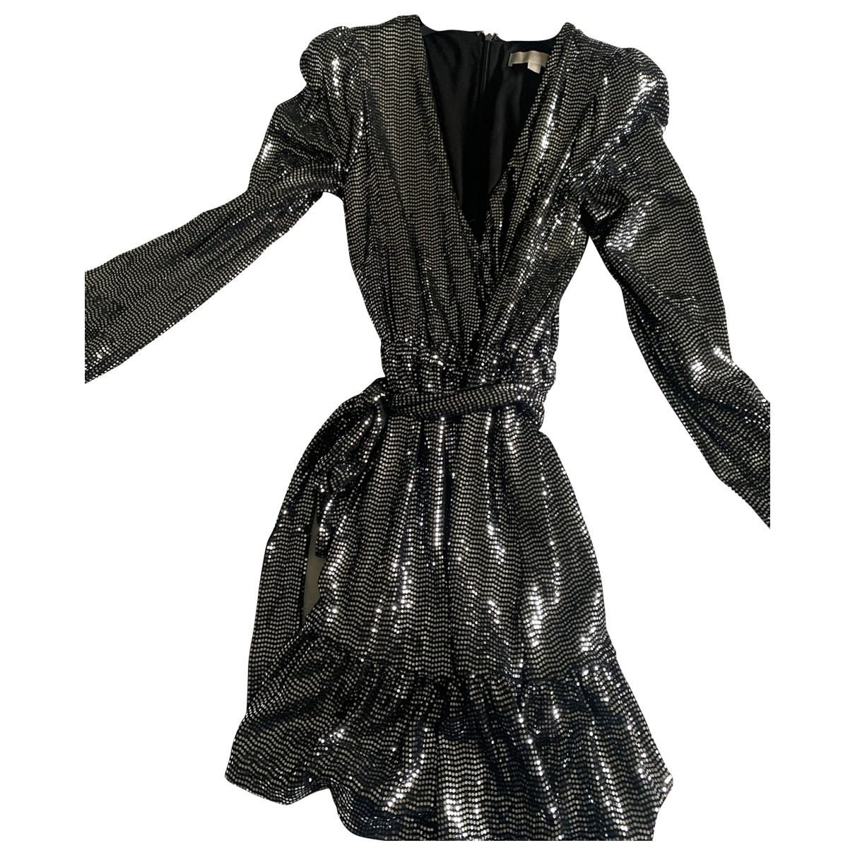 Michael Kors - Robe   pour femme en a paillettes - metallise