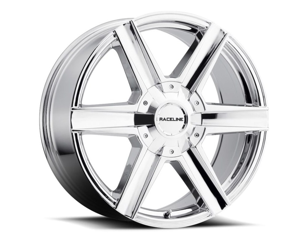 Raceline 158C Impulsive Chrome Wheel 20X8.5 6X139.7|6X135 35mm