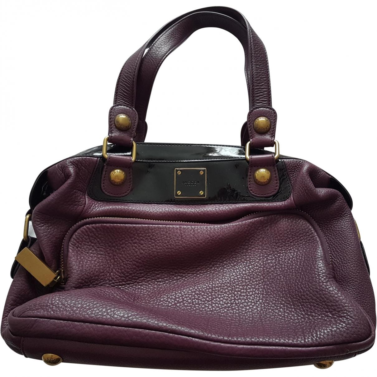 Jaeger London \N Purple Leather handbag for Women \N