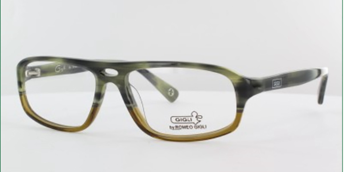 Gigli 1013/I 058 Men's Glasses Green Size 54 - Free Lenses - HSA/FSA Insurance - Blue Light Block Available