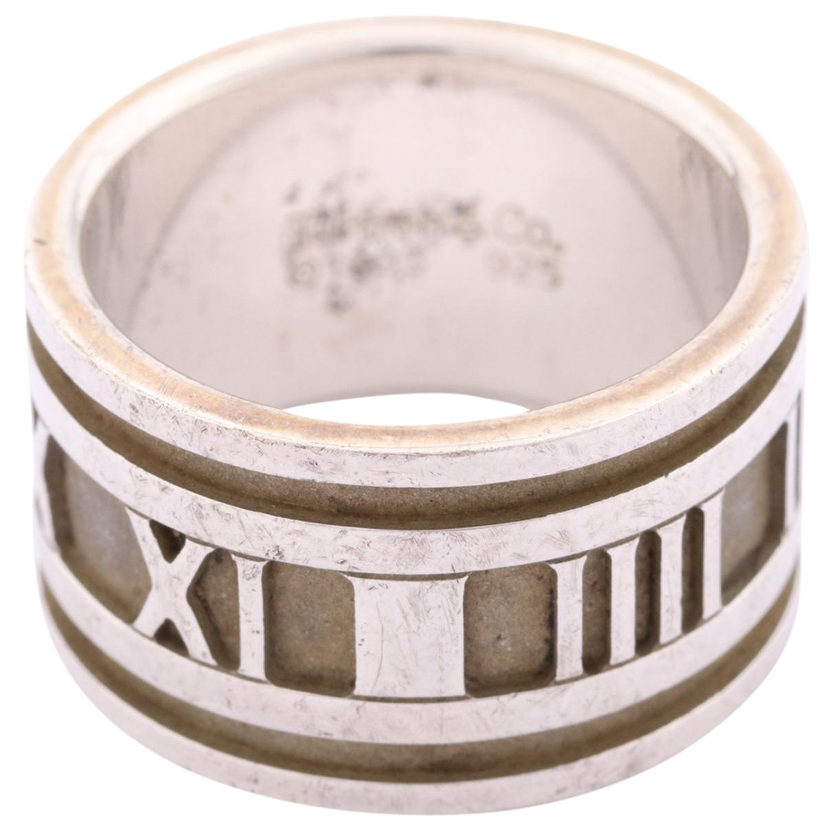 Tiffany & Co Atlas Ring in Silber