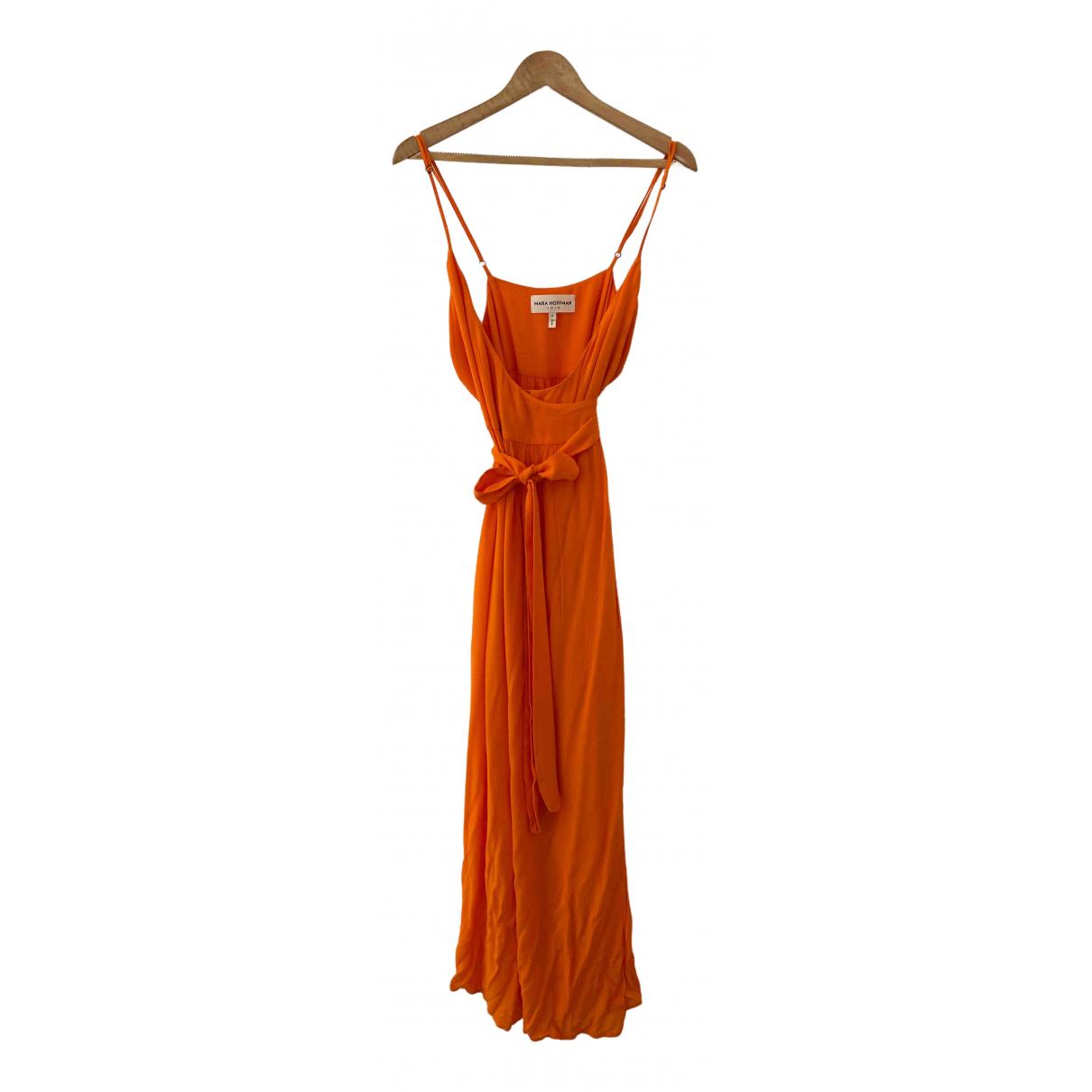 Mara Hoffman \N Kleid in  Orange Viskose
