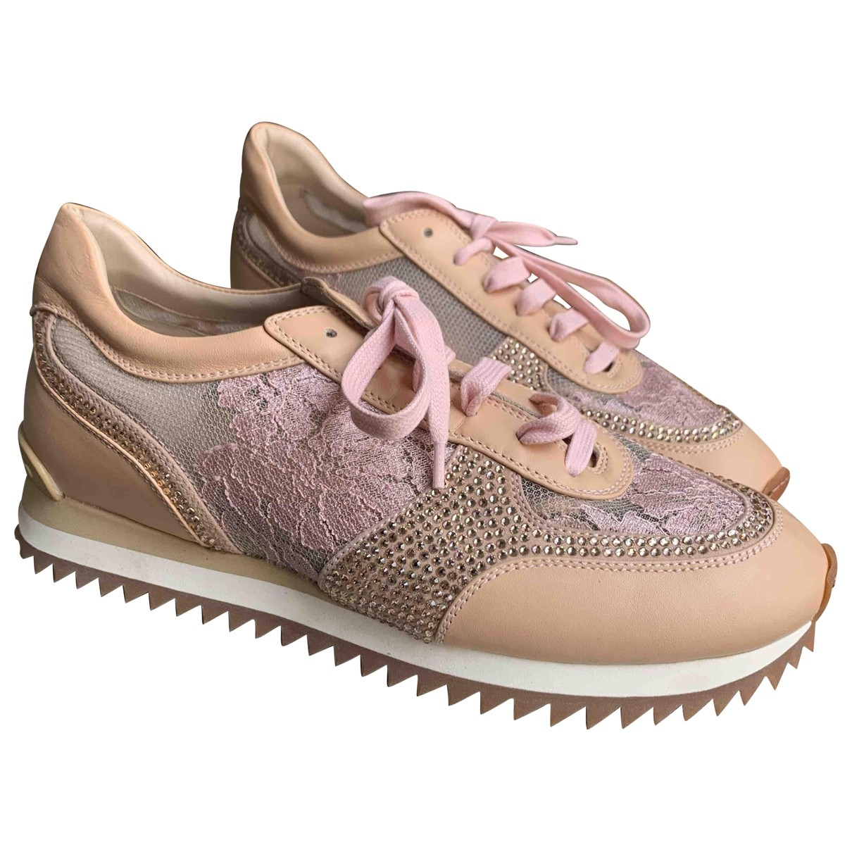 Le Silla \N Pink Cloth Trainers for Women 40 EU