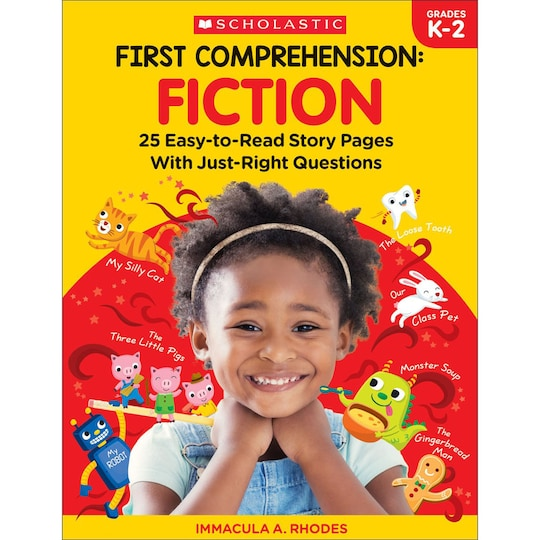 Scholastic® First Comprehension: Fiction   Michaels®