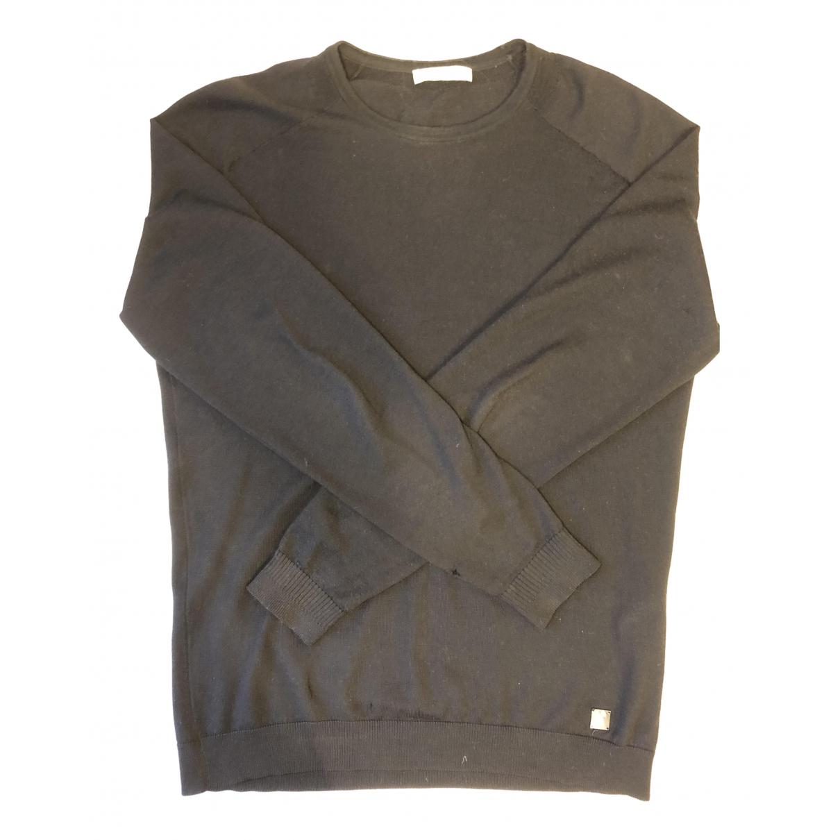 Versace - Pulls.Gilets.Sweats   pour homme en laine - noir