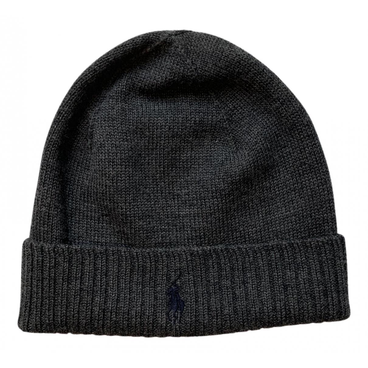 Polo Ralph Lauren N Grey Wool hat & pull on hat for Men L International