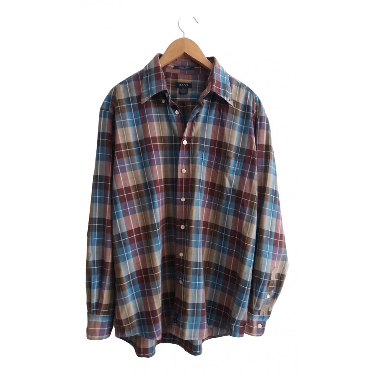Gant \N Multicolour Cotton Shirts for Men XL International