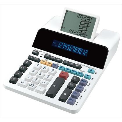 Sharp® 12-Digit Paperless Desktop Display Calculator ELDP9001