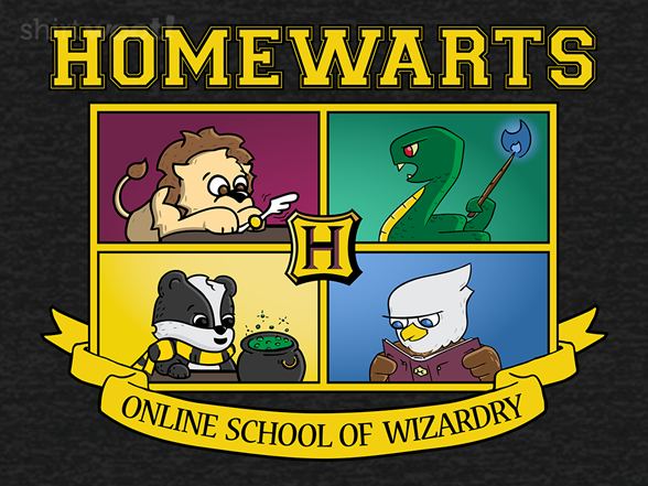 Homewarts T Shirt