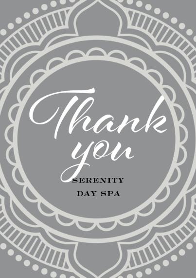 Beauty & Spa Flat Business Greeting Cards, Business Printing -Bold Boho