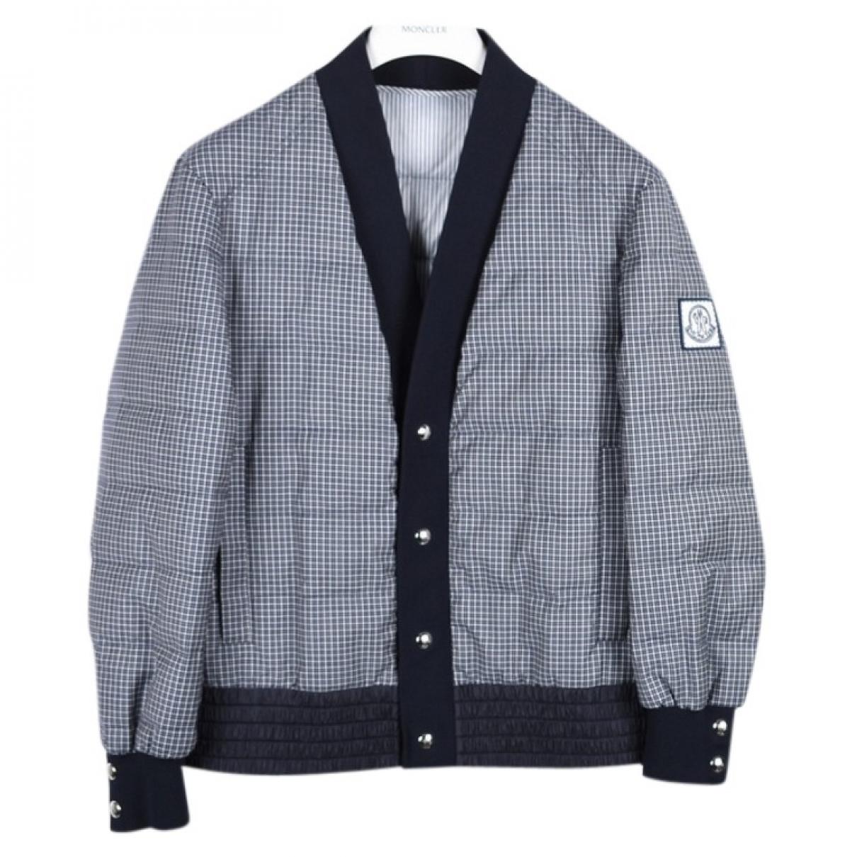 Moncler \N Jacke in  Blau Wolle