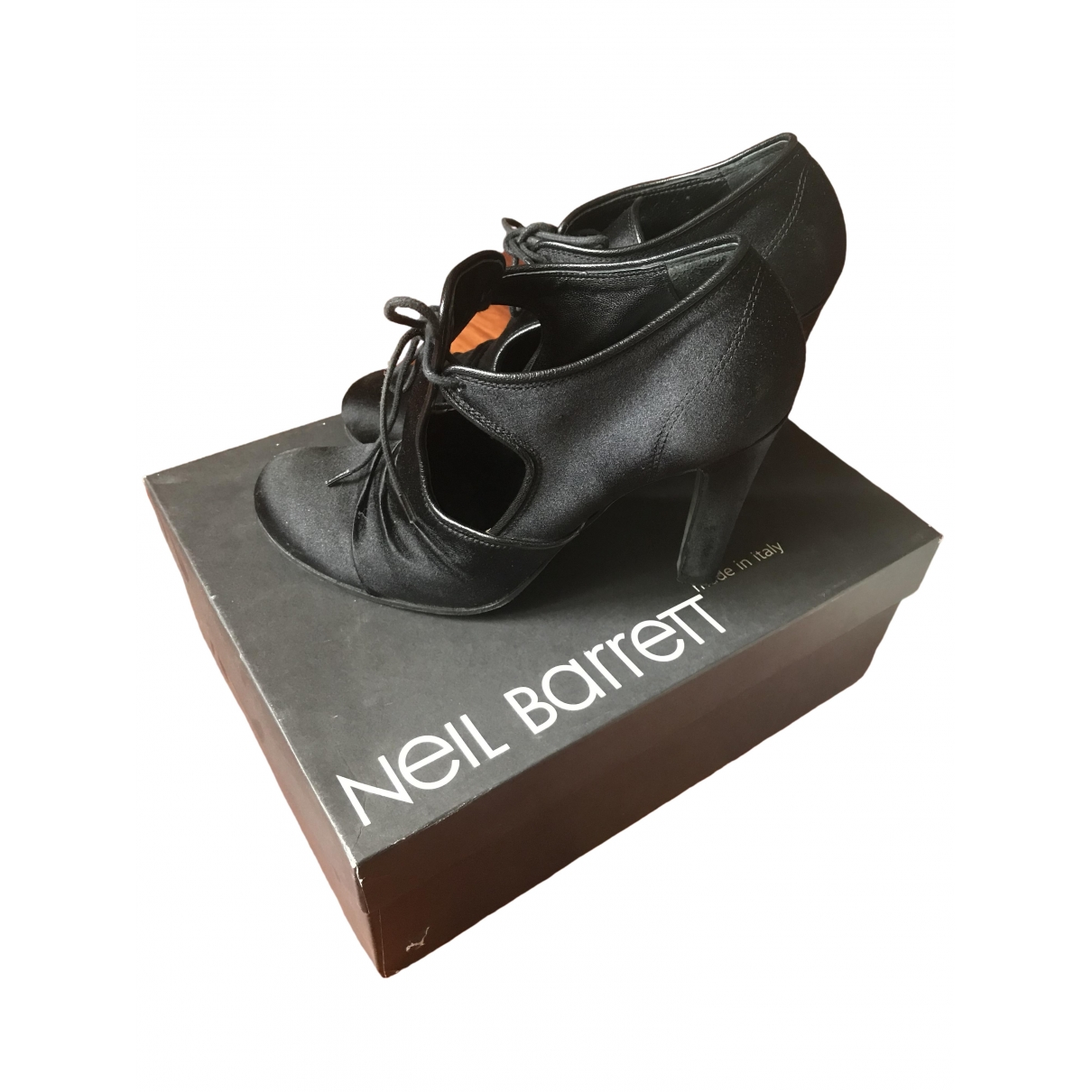 Neil Barrett \N Pumps in  Schwarz Leinen