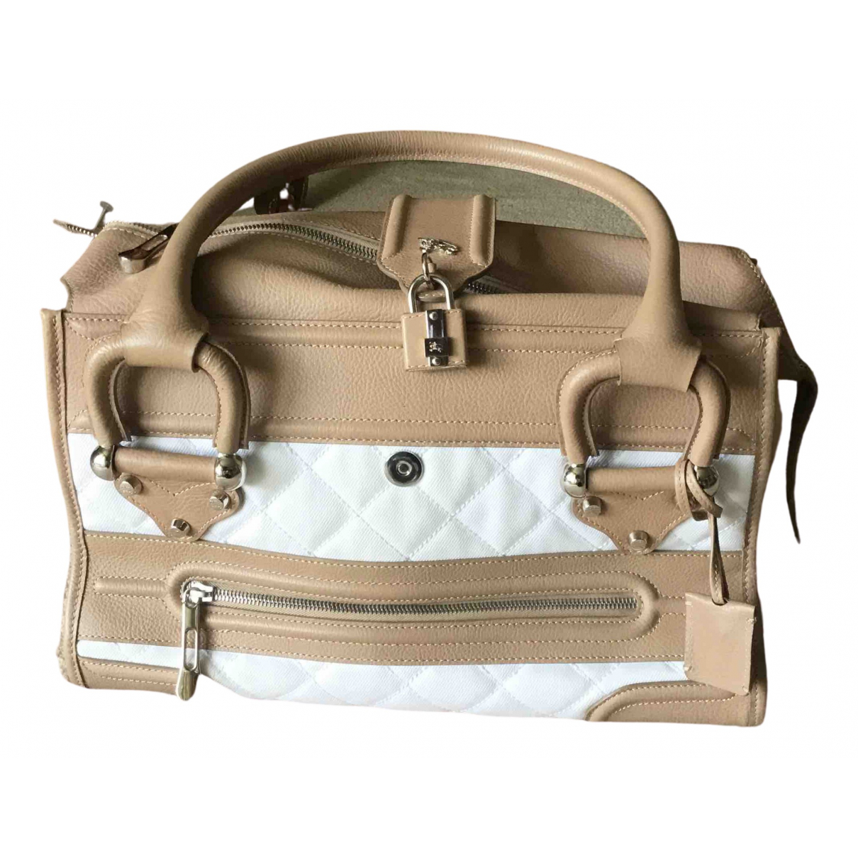 Burberry \N Beige Leather handbag for Women \N
