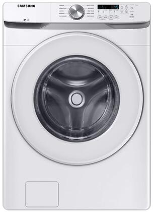 WF45T6000AW 27 White Front Load Washer with 4.5 cu. ft. Capacity  Vibration Reduction Technology+  Self Clean+ and Smart