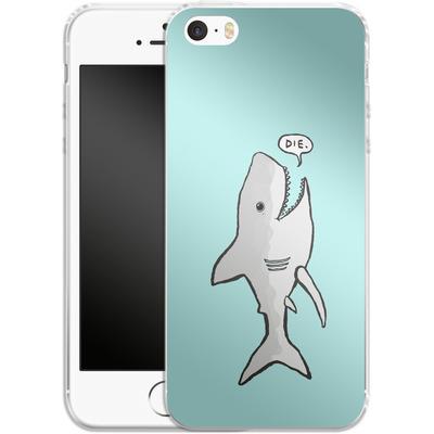 Apple iPhone 5s Silikon Handyhuelle - Die von caseable Designs