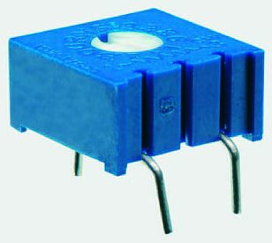 Bourns 20kΩ, Through Hole Trimmer Potentiometer 0.5W Top Adjust , 3386
