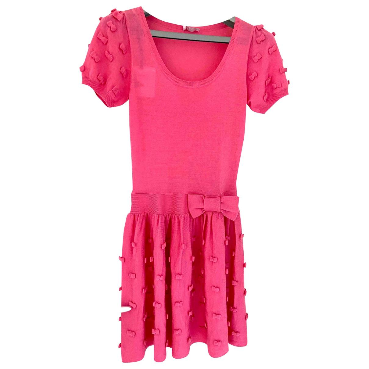Mini vestido de Lana Red Valentino Garavani