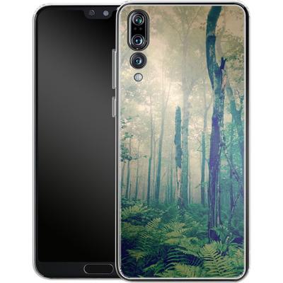 Huawei P20 Pro Silikon Handyhuelle - Walk To The Light von Joy StClaire