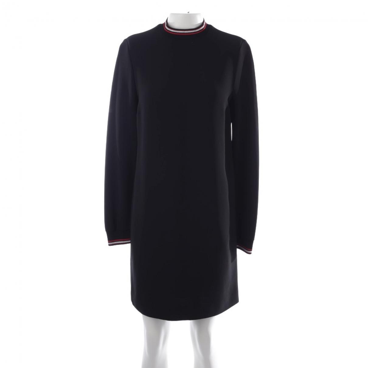 Victoria Beckham \N Kleid in  Schwarz Leder