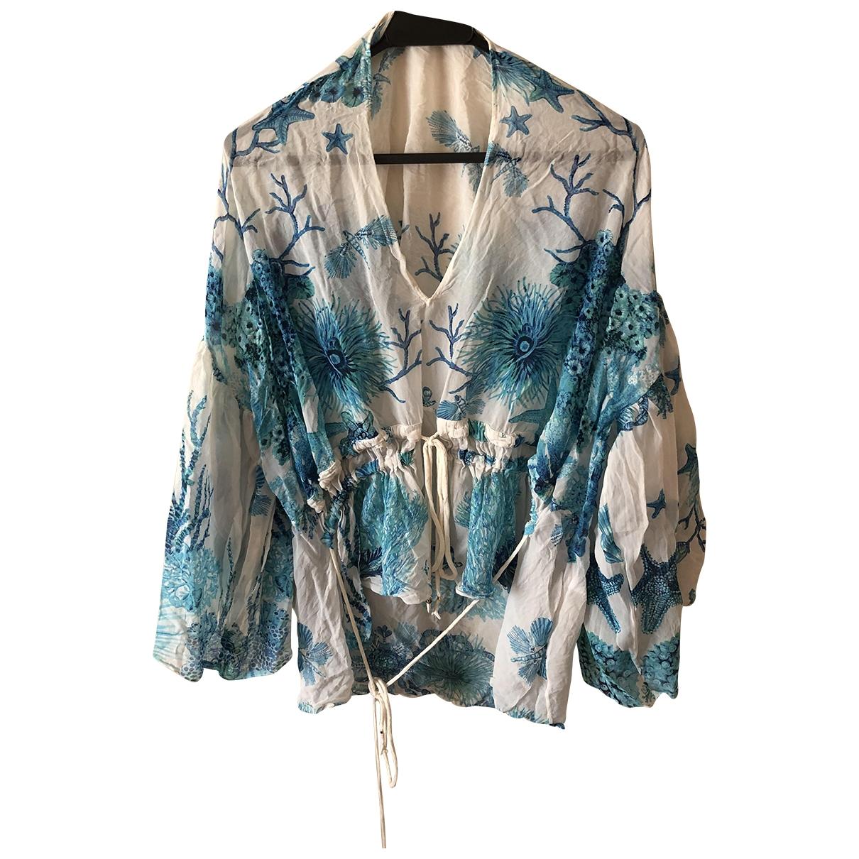 Roberto Cavalli \N Silk  top for Women 40 IT
