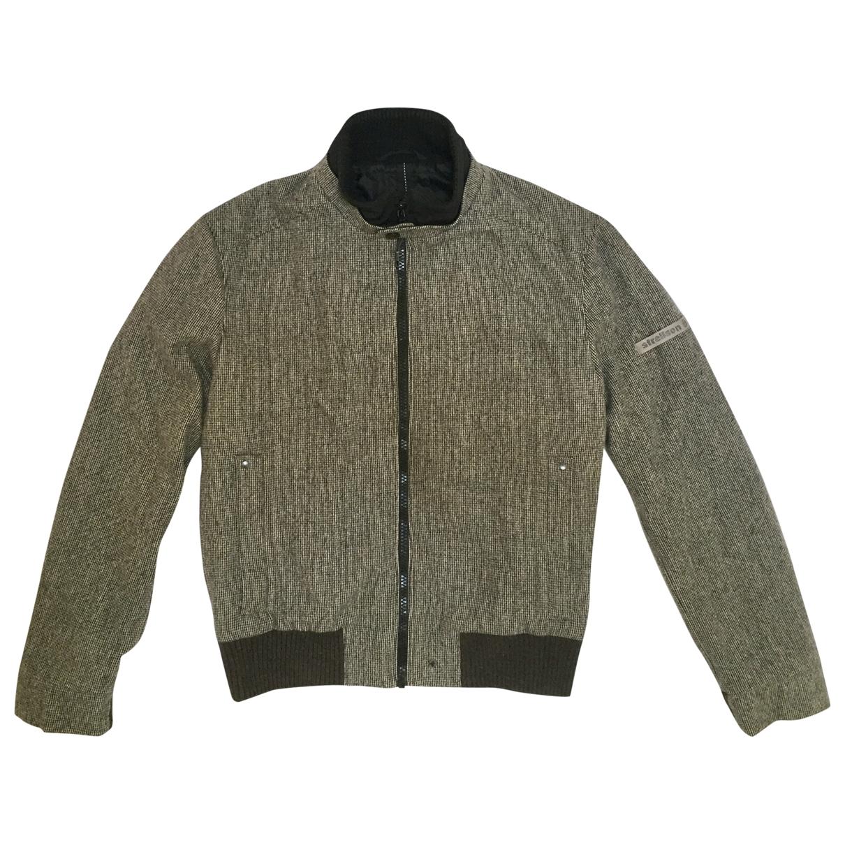 Strellson \N Jacke in  Braun Wolle
