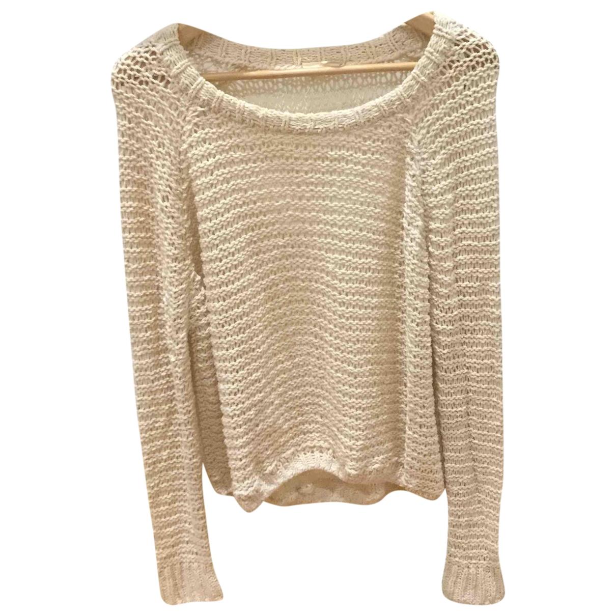 American Vintage \N Ecru Cotton Knitwear for Women XS International
